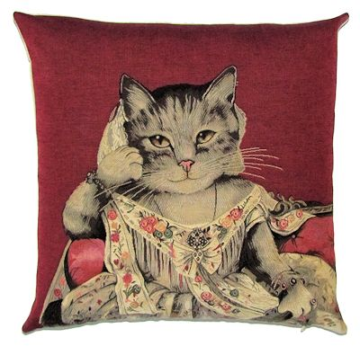 Susan Herbert Lady Anne Red Tapestry Pillow Covers