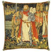 gobelin cushions chivalry