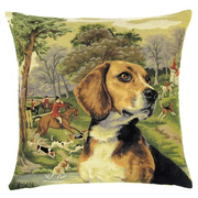 tapestry cushions dogs