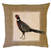 tapestry cushions birds