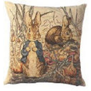 gobelin cushions Peter Rabbit