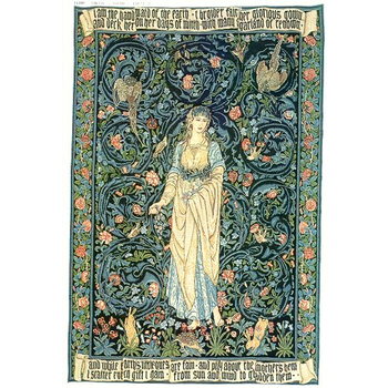 wall tapestry Flora by W.Morris