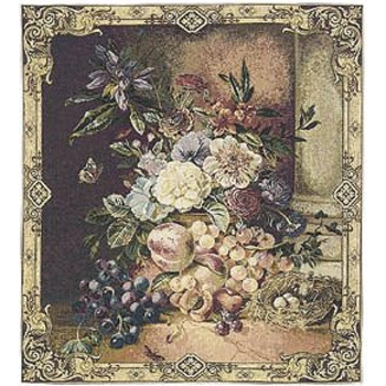 wall tapestry Floral Bouquet