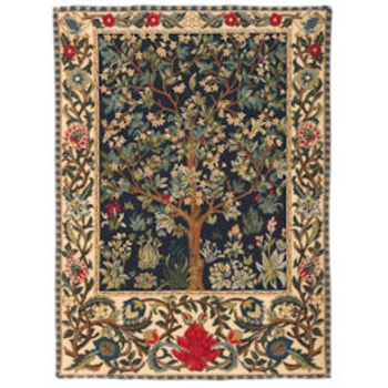 wall tapestry Tree of Life by W.Morris