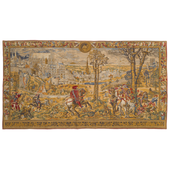 wall tapestry medieval Brussels horizontal