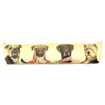 tapestry draught excluder Poncelet dogs II