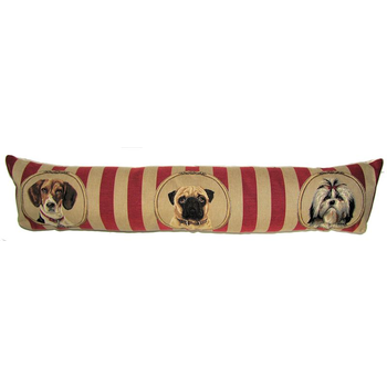 tapestry draught excluder dogs wallpaper