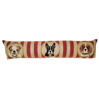 tapestry draught excluder dogs wallpaper II