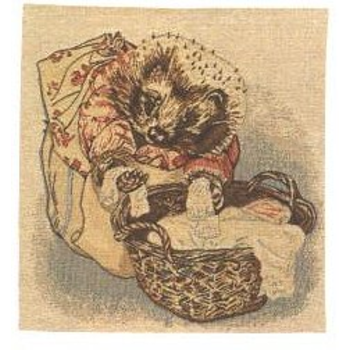tapestry cushion Tiggy Winkle by B.Potter