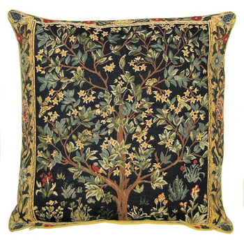 tapestry cushion Tree of Life by W.Morris