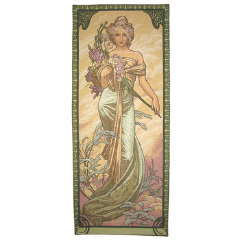wall tapestry Spring by A.Mucha