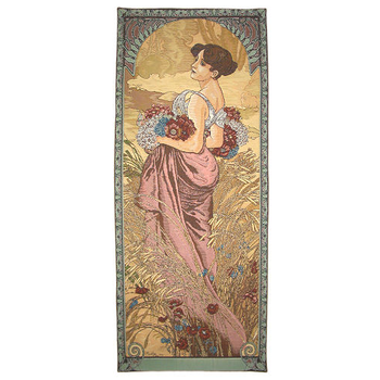 wall tapestry Summer by A.Mucha