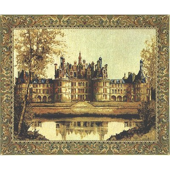wall tapestry Chambord Castle