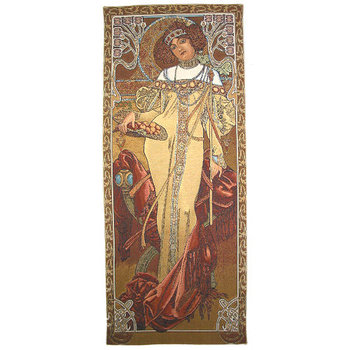 wall tapestry Fall by A.Mucha