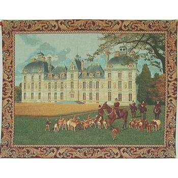wall tapestry Cheverny Castle