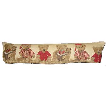 tapestry draught excluder teddy bears