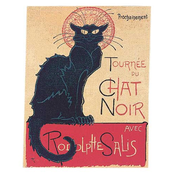 wall tapestry Le Chat Noir