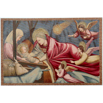 wall tapestry Birth of Giotto