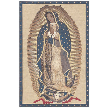 wall tapestry The Virgin of Guadeloupe