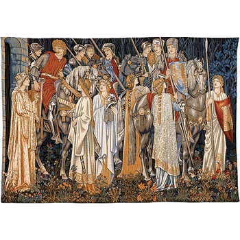 wall tapestry the Holy Grail by W.Morris