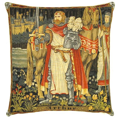 King Arthur Museum Pillow Covers Gobelin Cushions
