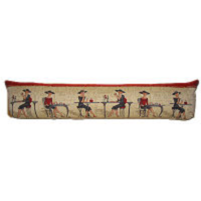 tapestry draught excluder Femme Elégante