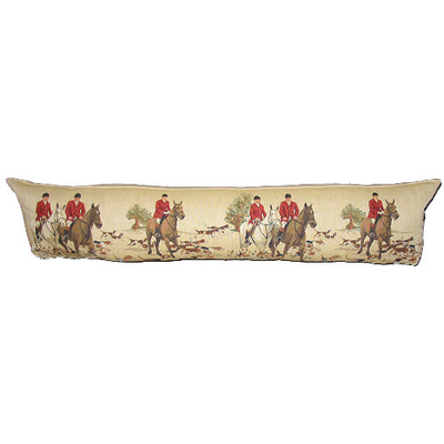 tapestry draught excluder foxhunt